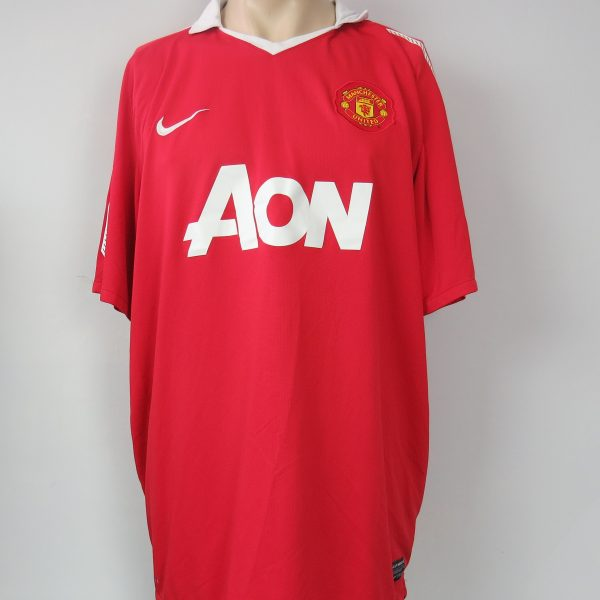 185f98beb Manchester United 2010-11 home shirt Nike soccer jersey football size XXL  (1)