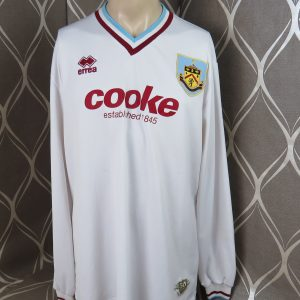 Burnley 2009-10 L S away shirt ERREA soccer jersey size 3XL 4d853ec3c