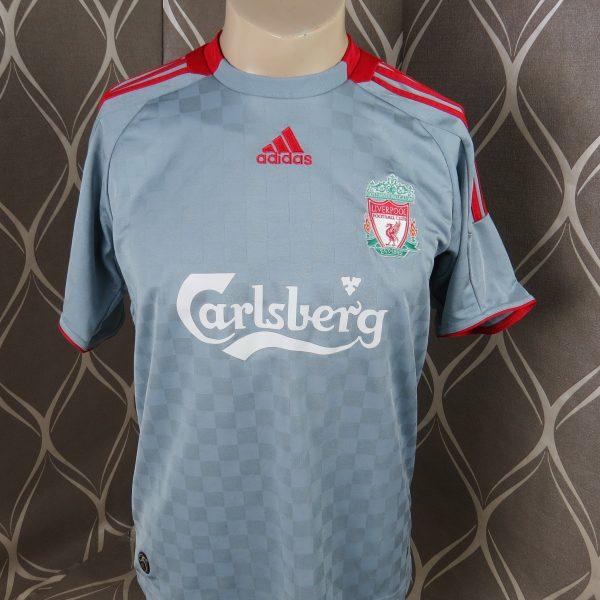 d694e21fa Liverpool 2008-09 away shirt adidas soccer jersey size Boys XL 1416Y 176 (1