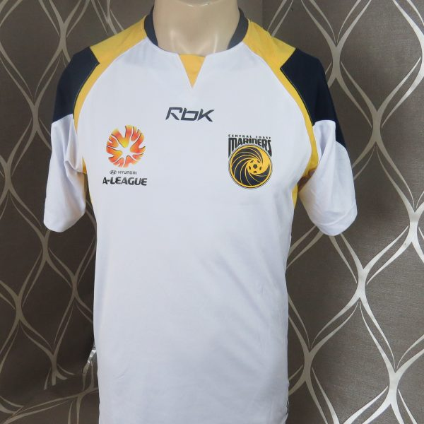 Rare Central Coast Mariners 2006-07 away shirt Reebok soccer jersey size S ( 1 aaa0896fd