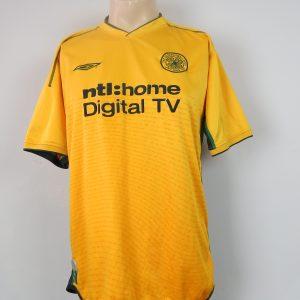853b01516 Celtic 2002-03 away shirt UMBRO soccer jersey camiseta maillot trikot size L