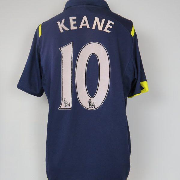 huge discount 13967 c671a Tottenham Hotspur 2009-10 away shirt PUMA soccer jersey Keane 10 size M