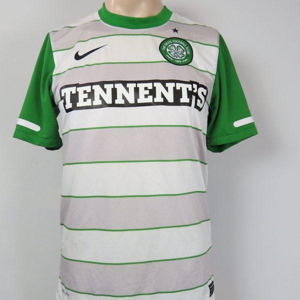 6e4fd4175e7 Celtic 2011-12 away shirt Nike soccer jersey size S – Football ...