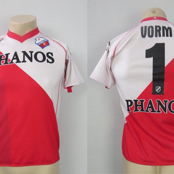 ec1b3a1cf82 FC Utrecht 2010-11 home   GK shirt Kappa soccer jersey Vorm 1 size ...