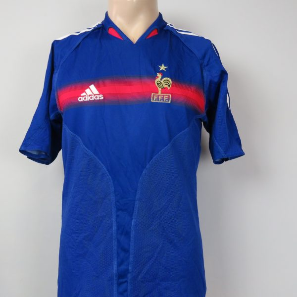 reputable site e3070 6d9b0 France 2004-06 home shirt adidas soccer jersey size S Euro 2004