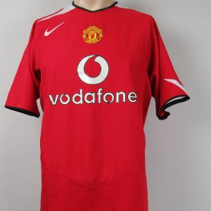5eaa54eb61b Manchester United 2004-06 home shirt Nike soccer jersey size L