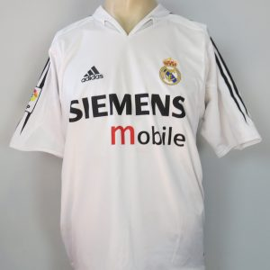 d89041d8357 Real Madrid 2004-05 home shirt adidas soccer jersey size XL