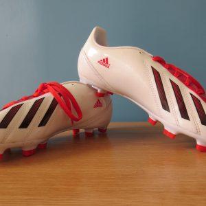 3830fe99cdde Adidas F10 Messi 2012 TRX white Football JR boots FG UK5.5 EU 38 2/3