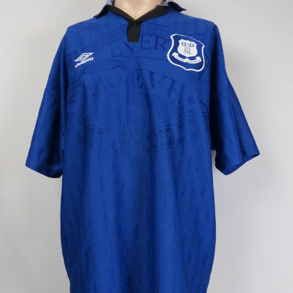 Everton 1995-97 sponsorless home shirt Umbro jersey size XXL ... 330322534