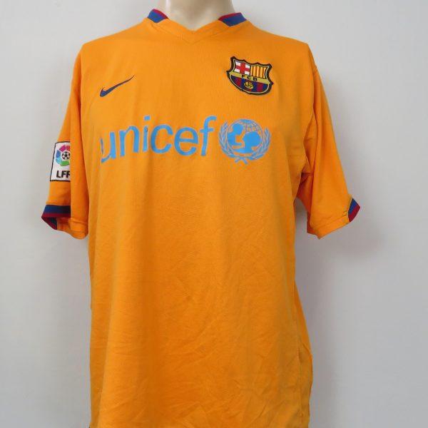 huge selection of 48741 748ea Barcelona 2006-07 third shirt Nike soccer jersey camiseta size L