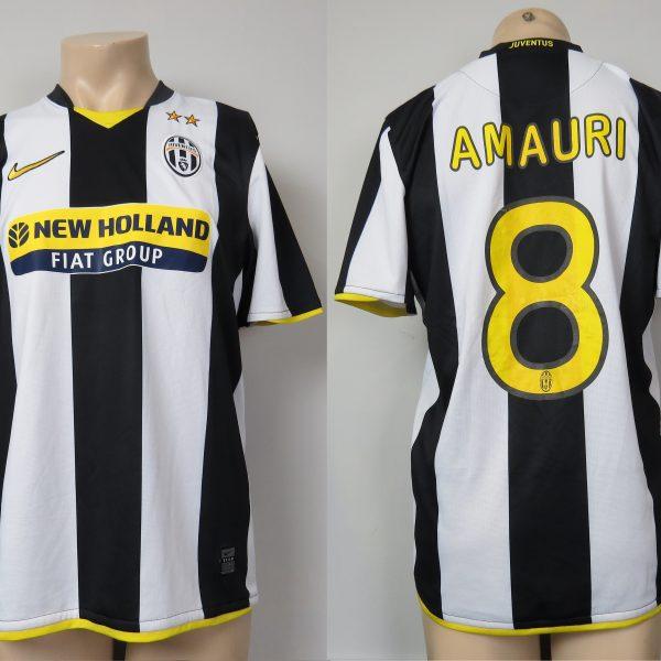 abce747d4 Juventus 2008-09 home shirt Nike soccer jersey Amauri 8 size M ...