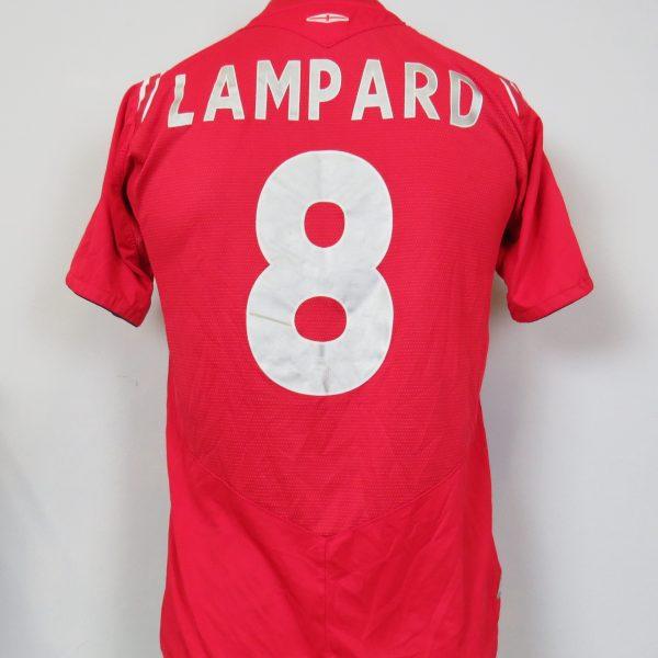 e46827c1b England 2004-06 away shirt Umbro soccer jersey Lampard 8 YXL 158cm ...