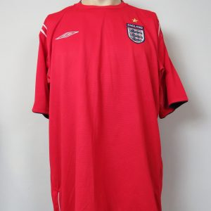 7cd41d0ec England 2004-06 away shirt Umbro soccer jersey size XL EURO 2004