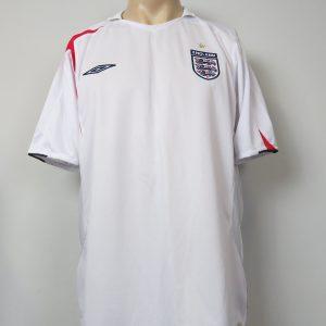 ce1fc3658e5 England 2005-07 home shirt Umbro soccer jersey size XL WC2006