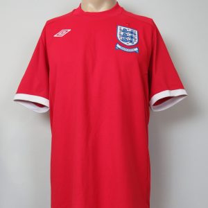 804f8691545 England 2010 World Cup South Africa away shirt Umbro size 44 L