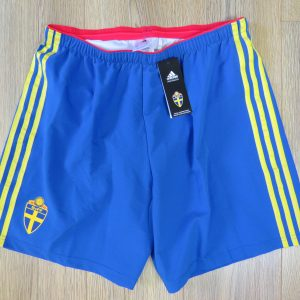 a1380f493 Player issue Sweden 2014-15 home shorts adidas size L BNWT