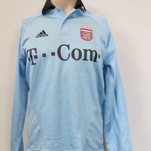 pretty nice 1a7b6 dbb00 Bayern Munich 2005-06 L S GK shirt adidas soccer jersey size S