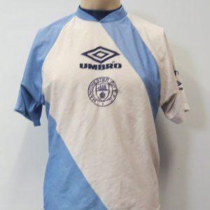 0b9c89d56 Manchester City 1990-95 training shirt Umbro soccer jersey size Y 34-36″