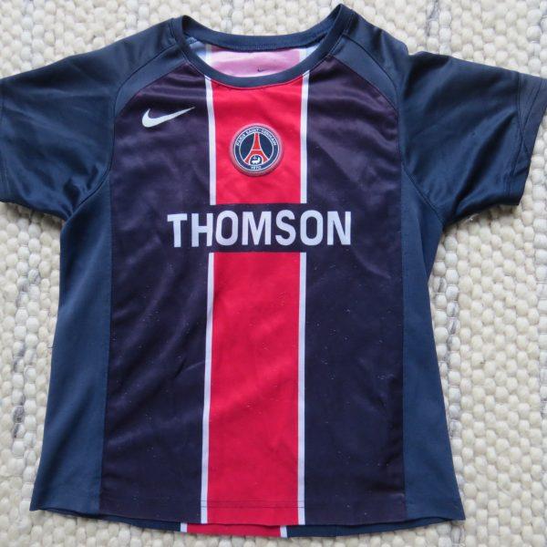 685491b0853 Paris Saint-Germain 2005-06 home shirt PSG Nike size 6-7YRS 116-122 ...