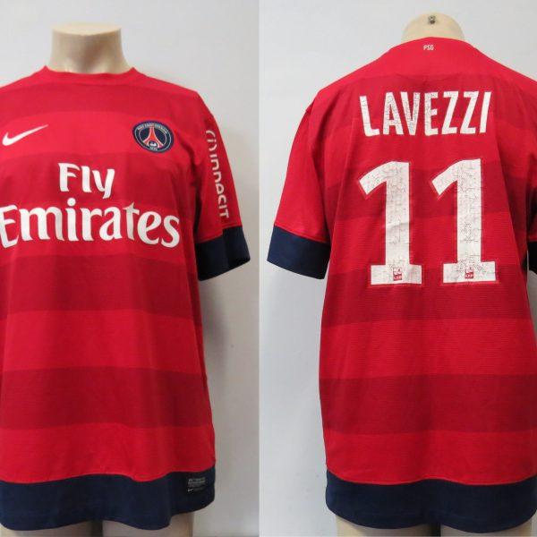 795ec77b144 Paris Saint-Germain 2012-13 away shirt Nike PSG Lavezzi 11 size L ...