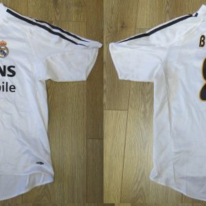 d5be803f7 Real Madrid 2004-05 home shirt adidas Beckham 32 jersey Boys M 12Y 152