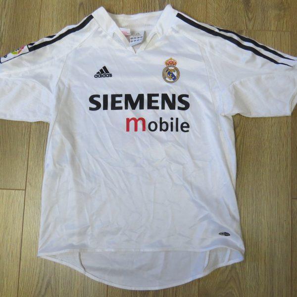 best service 0d6cb 40833 Real Madrid 2004-05 home shirt adidas Beckham 32 jersey Boys M 12Y 152