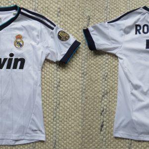 bd22485d7 Real Madrid 2012-13 LFP home shirt adidas Ronaldo 7 jersey size Boys M 12Y