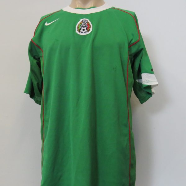 265df8c6345 Vintage Mexico 2004-06 home shirt Nike dri-fit soccer jersey size L ...