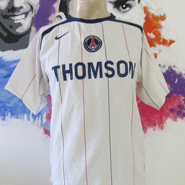 more photos 91105 3af15 Paris Saint Germain 2005-06 away shirt PSG Nike soccer jersey size S Vintage
