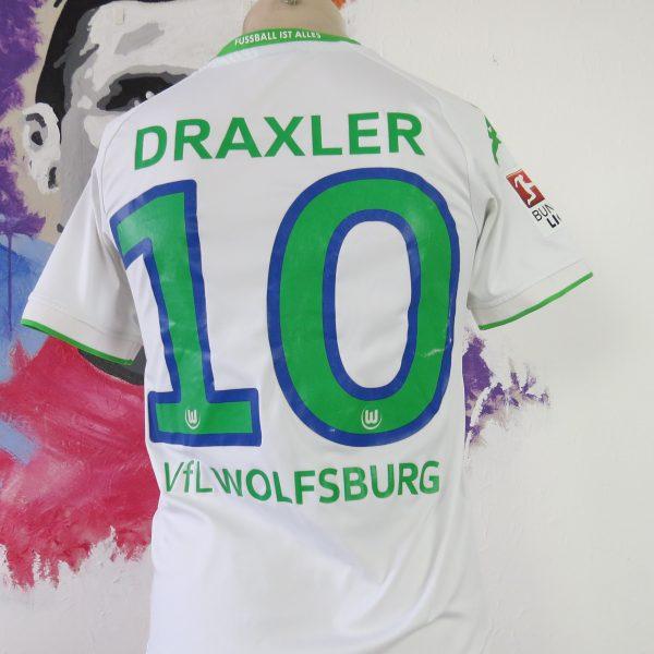 the latest e80dd 9a581 Vfl Wolfsburg 2015 2016 home shirt Kappa Draxler 10 size Boys L 164cm 13Y