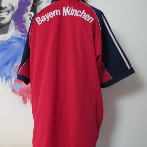 online store 85023 0fa6a Vintage Bayern Munchen 1999 2000 2001 home shirt adidas size XL Munich Opel  MINT