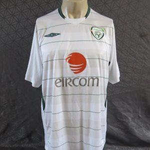 3d591a2eb70 Ireland 2009-10 away shirt soccer jersey UMBRO size XL