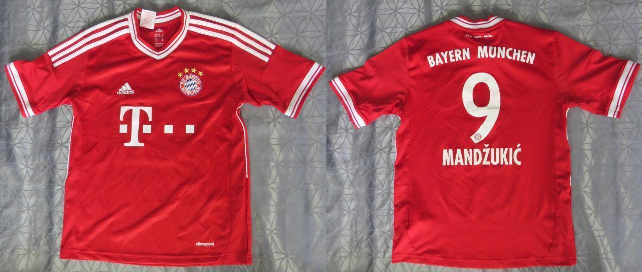 d4999d7c3 ... 2014 15 bayern munchen 9 mandzukic home soccer shirt kit